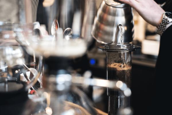 AeorePress kahve demleme mornin